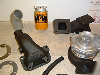 M W Turbo Kit Ih Farmall Diesel Picture