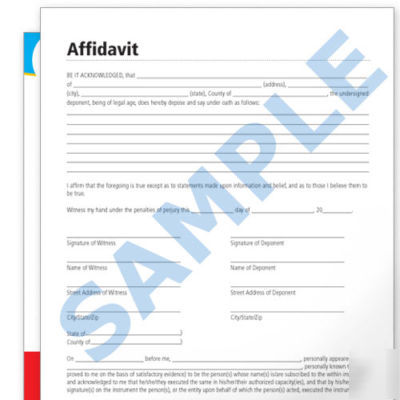 Affidavit Formats. Affidavit Forms,Doc.#7681024: Affidavit Of