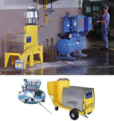 Hot cold industrial pressure washer 3000 psi @ 4 gpm