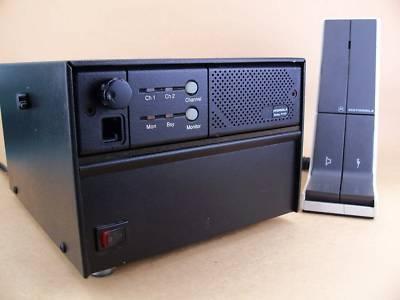 Motorola radius M120 uhf 2CH 40W base radio