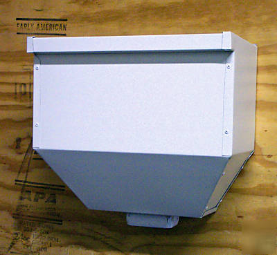 New Scupper Box White Brown Or Ivory Larger Style