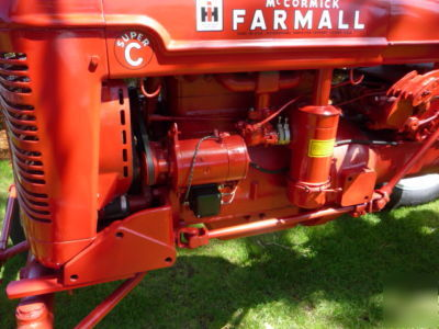 Farmall Tractor Seat together with Farmall M Wiring Diagram furthermore Farmall Cub Engine Oil Filter also Farmall M Voltage Regulator Wiring Diagram moreover Farmall H Ignition Diagram. on farmall super c tractor wiring diagram
