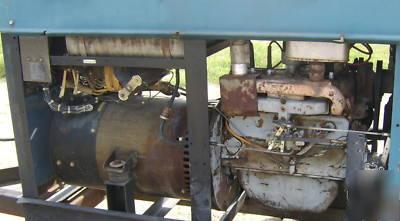 Miller big 40 constant current dc arc welder generator