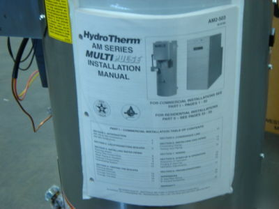 What Is A System Boiler >> Hydrotherm multi pulse am-150 high eff gas boiler